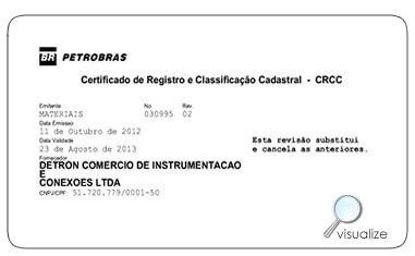 Detron CRCC Petrobras