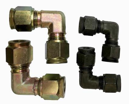 Conexão tipo compressão de aço carbono